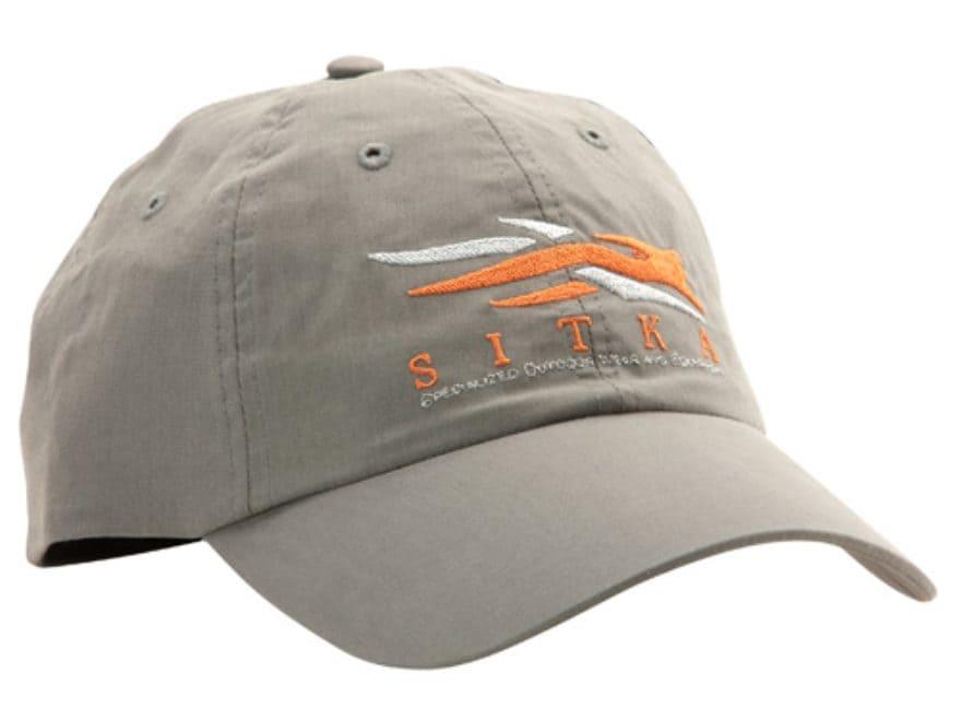 sitka gear logo cap cotton charcoal upc 879101047456