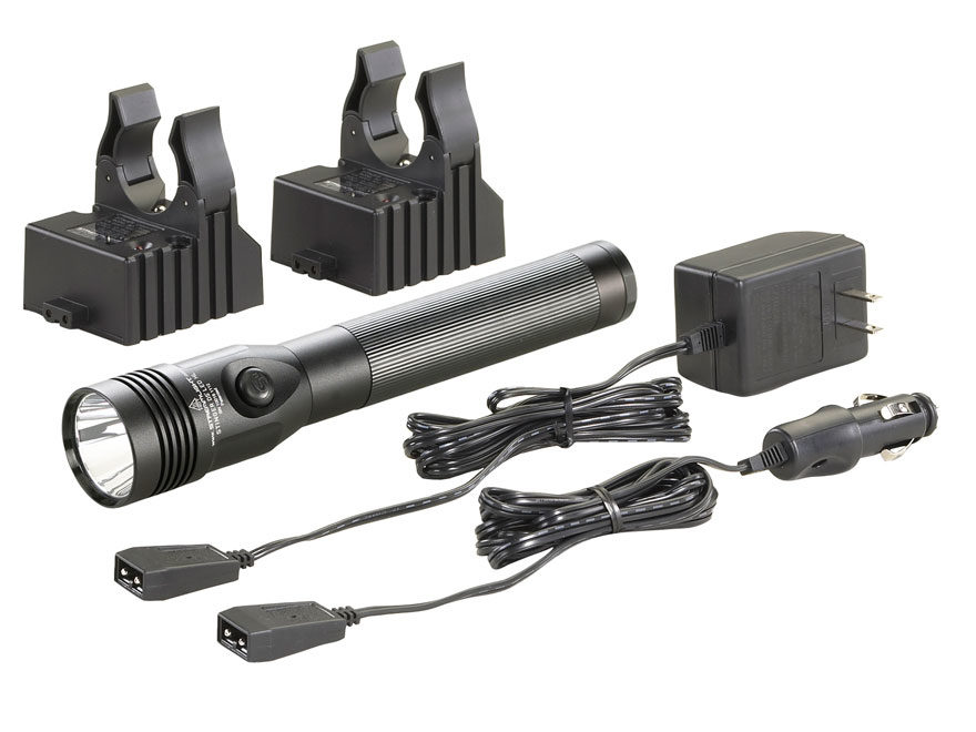 Streamlight Stinger Dual Switch Flashlight LED HL (High Lumens) with Reachargeable Ni-M...