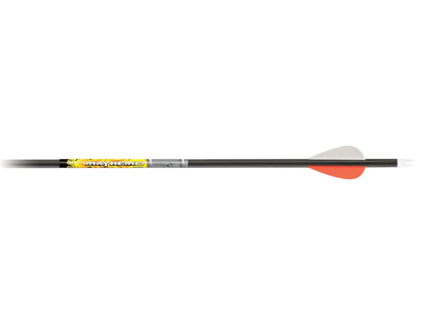 "Carbon Express Mayhem Jr 20-40 Carbon Arrow 2"" Blazer Vanes Black Pack of 3"