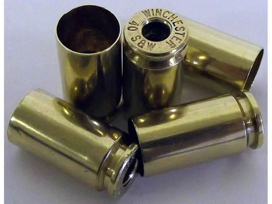 Top Brass Premium Reconditioned Reloading Brass 40 S&W