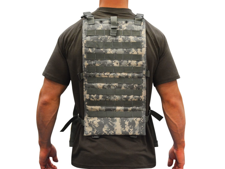 Military Surplus MOLLE II Hydration Carrier with Shoulder Straps