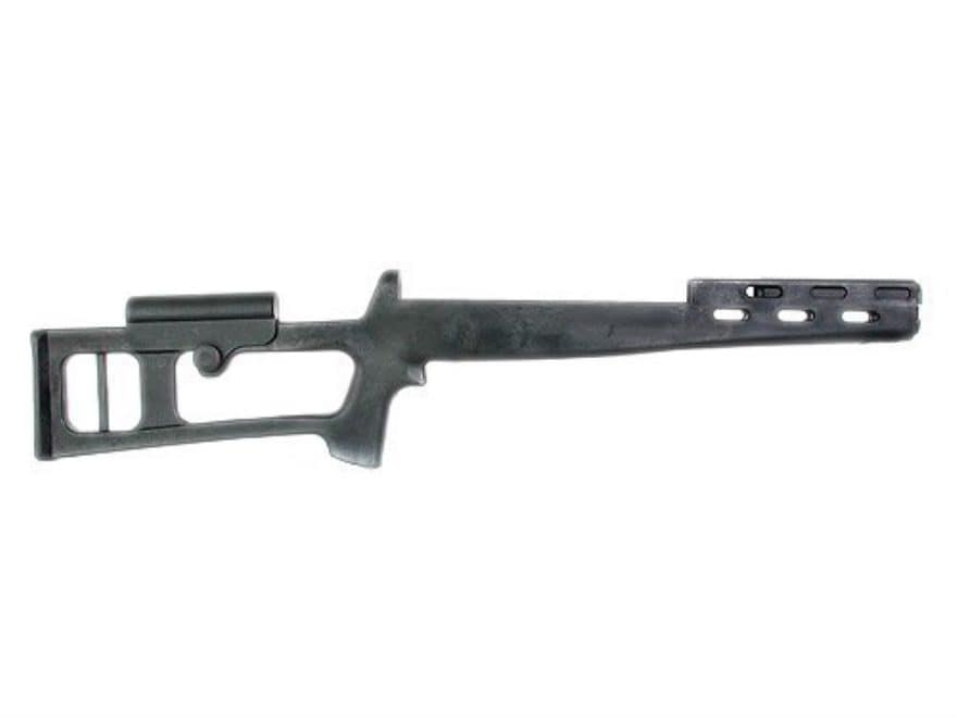 Advanced Technology Fiberforce Dragunov Style Rifle Stock SKS Polymer Black