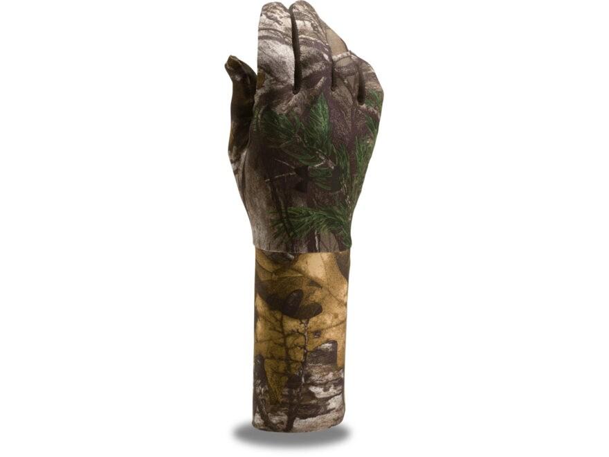 Under Armour UA Camo ColdGear Liner Gloves