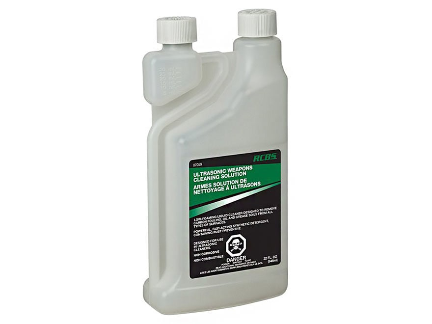 RCBS Ultrasonic Gun Cleaner 32 oz Liquid