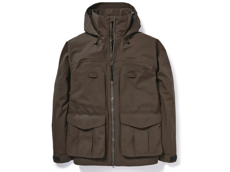 Filson Men's 3-Layer Waterproof Field Jacket Nylon/Polyester