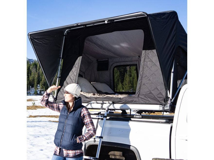 "Freespirit Recreation Adventure Series M-Spec Tri-Layer 3 Man Roof Top Tent 80"" X 55"" X..."