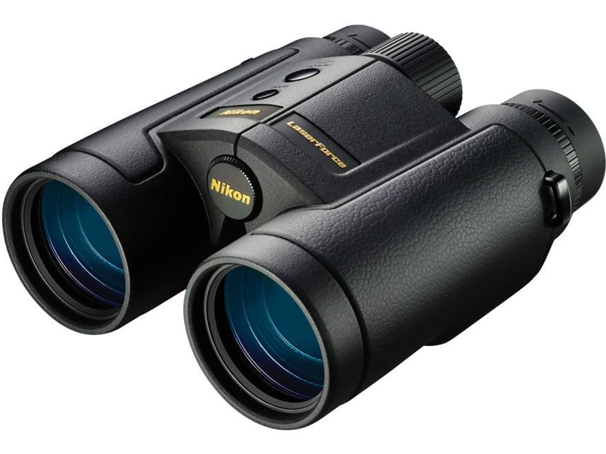 Nikon LaserForce Laser Rangefinding Binocular 10x 42mm Roof Prism Black