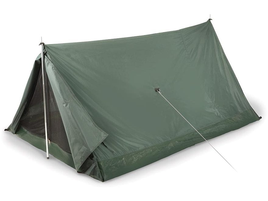 "Stansport Scout 2 Person A-Frame Tent 78"" X 54"" X 36"" Nylon Forest Green"