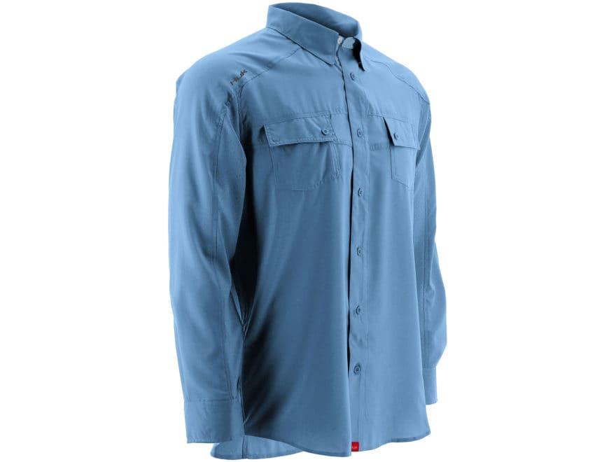 Huk Men's NXTLVL Button-Up Shirt Long Sleeve Polyester