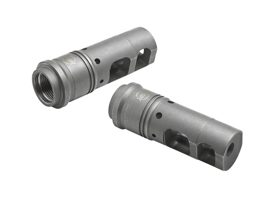 "Surefire SOCOM Muzzle Brake Suppressor Adapter AR-15 1/2""-28 Thread Steel Matte"