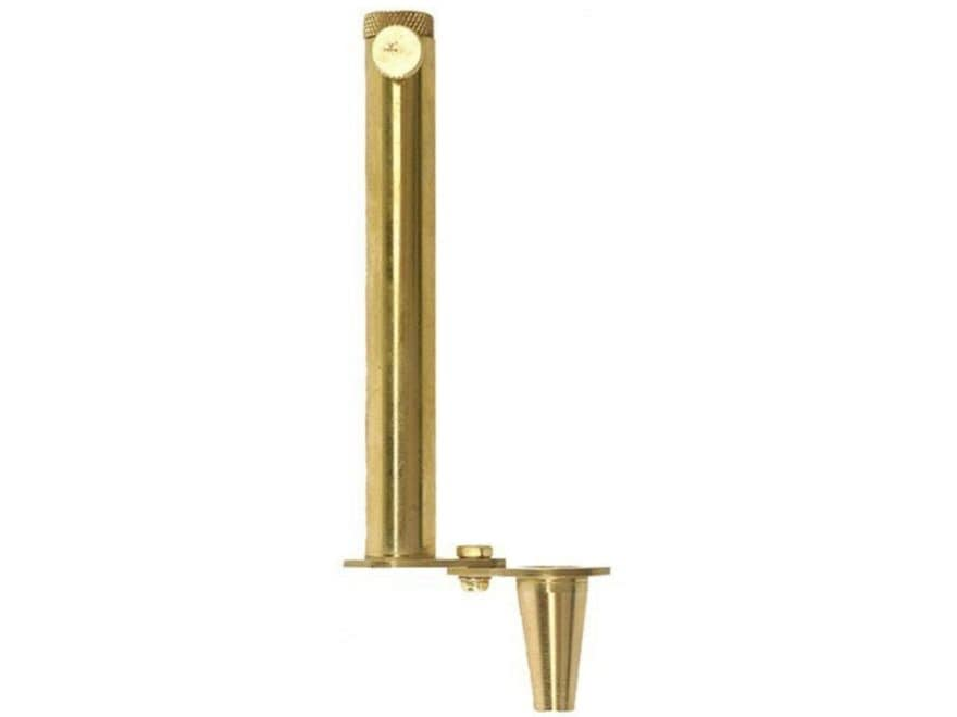 CVA Adjustable Black Powder Measure with Swivel Funnel 10 to 120 Grains Brass