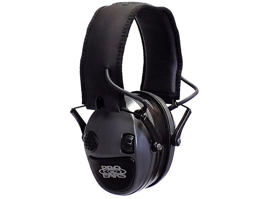 Pro Ears Silver 22 Electronic Earmuffs (NRR 22dB) Silver