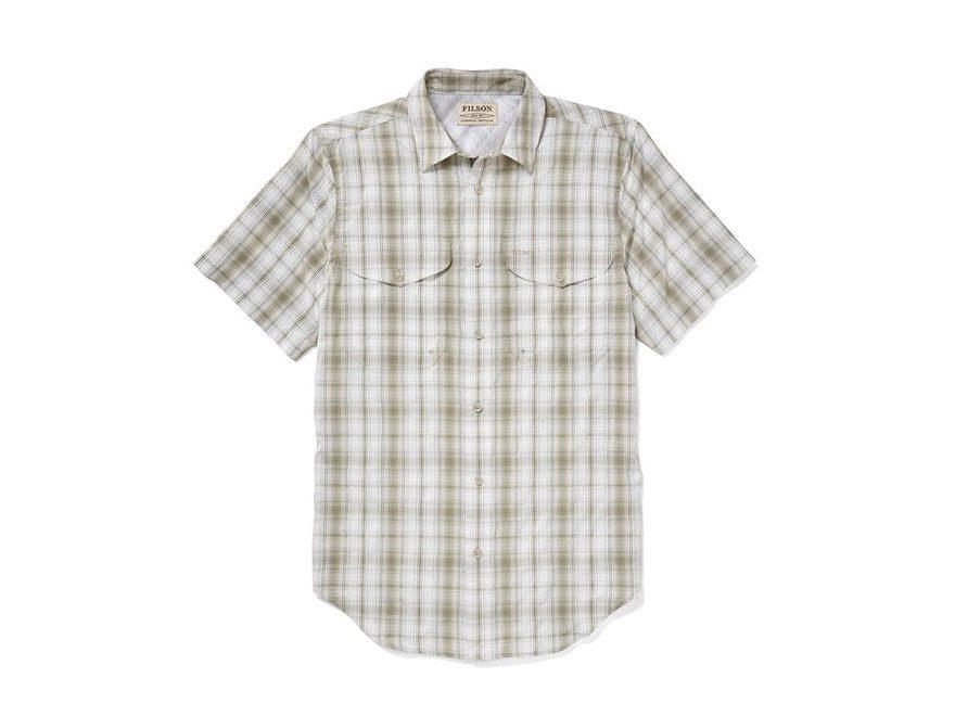 Filson Men's Twin Lakes Sport Shirt Short Sleeve Polyester/Nylon