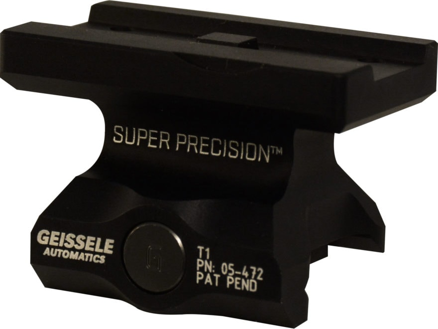 Geissele Super Precision APT1 Aimpoint T-1 & T-1 Patterned Optics Sight Mount Picatinny...