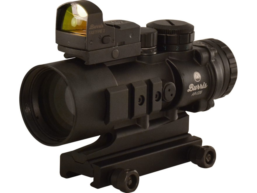 Burris AR-536 5x 36mm Prism Sight Ballistic CQ Reticle Matte with Free FastFire III Ref...