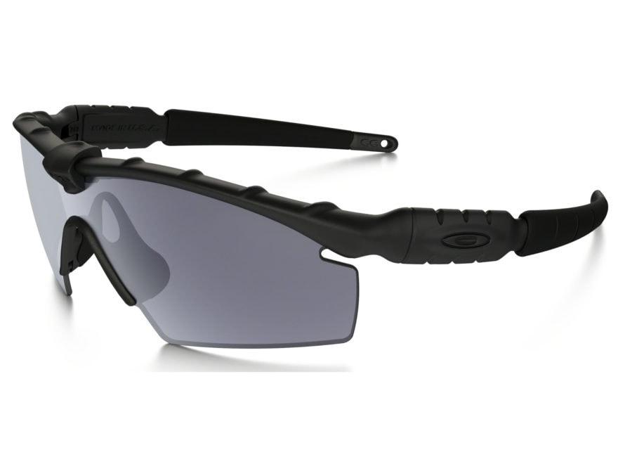 Oakley SI Ballistic M-Frame 2.0 Sunglasses Matte Black Frame/Strike Gray Lens