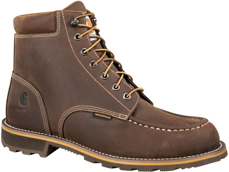 "Carhartt Traditional Welt 6"" Work Boots Leather Men's"