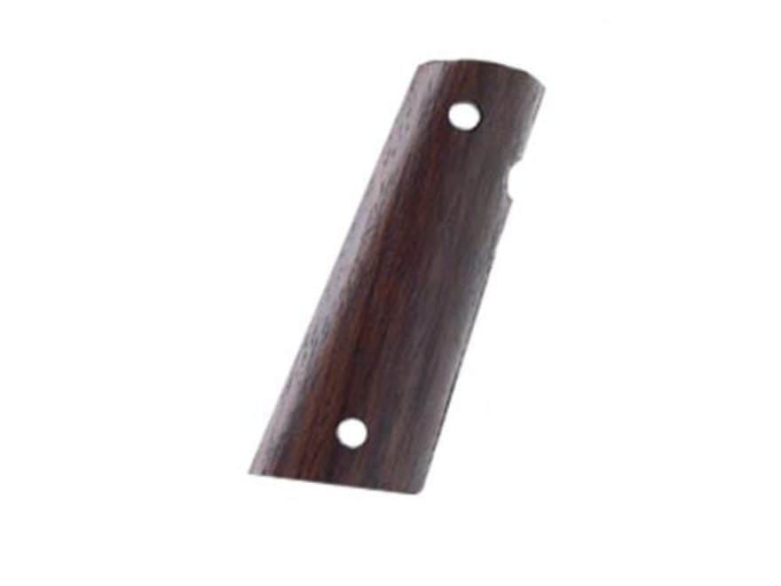 Hogue Fancy Hardwood Grips 1911 Government, Commander with Extended Magazine Well Ambid...
