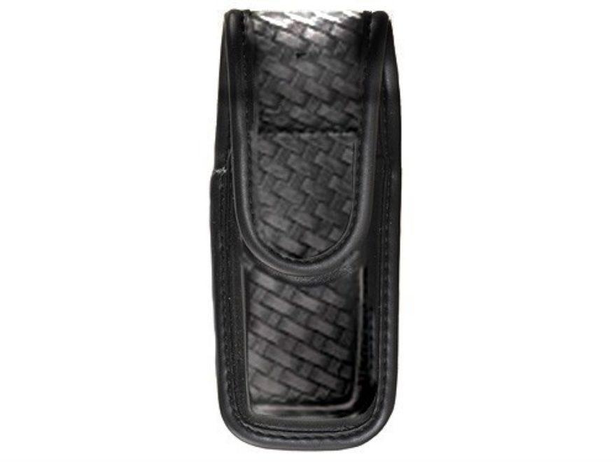 Bianchi 7903 Single Magazine Pouch or Knife Sheath Hidden Snap Trilaminate Black