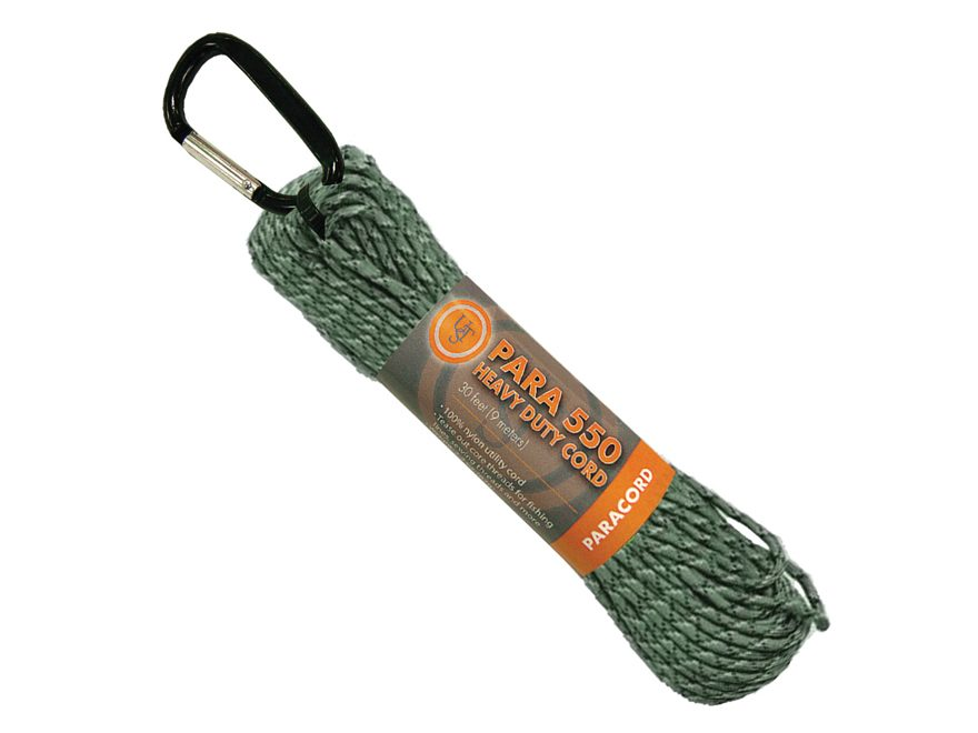 UST Para 550 Hank Survival Cord 30' Green Camo