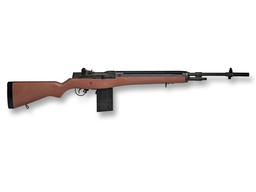 Winchester M14 CO2 Air Rifle 177 Caliber BB and Pellet Polymer Brown Stock Blue Barrel