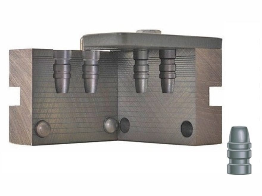 RCBS 2-Cavity Bullet Mold 38-150-SWC 38 Caliber (358 Diameter) 150 Grain Semi-Wadcutter