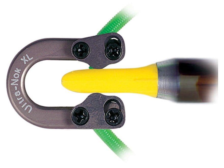 QAD Ultra-Nok XL String Nock Aluminum Gray