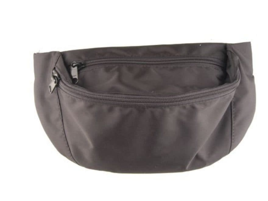 """Uncle Mike's Fanny Pack Holster (7"""" x 6-1/8"""") Nylon Black"""