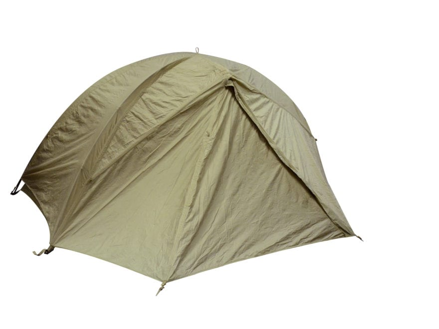 Military Surplus LiteFighter 1 Tent with Rainfly Coyote