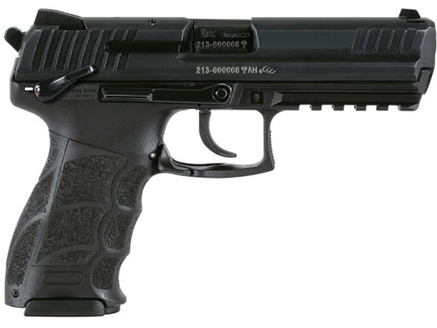 "HK P30L V3S Pistol 4.45"" Barrel Manual Safety Polymer Black"