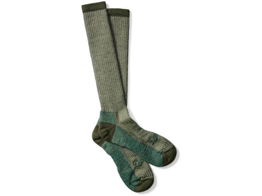 Danner Men's Midweight Over-the-Calf Hunting Socks Merino Wool/Nylon Green