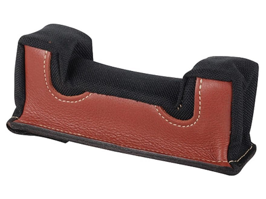 Edgewood Front Shooting Rest Bag Common Varmint Width Leather and Nylon Unfilled