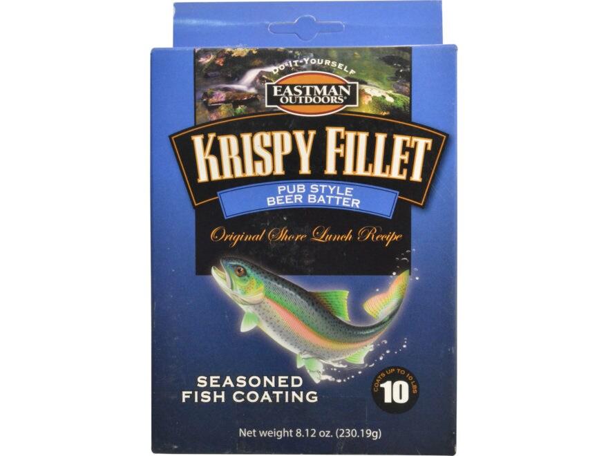 Eastman Outdoors Krispy Fillet Fish Batter 8.12 oz