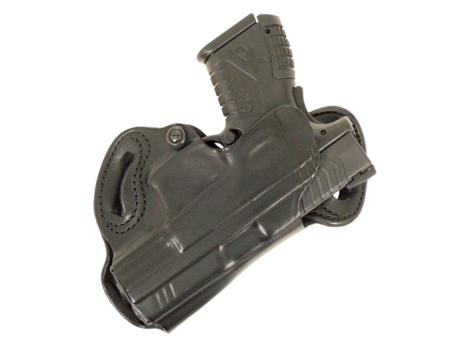 Desantis Small Of Back Belt Holster Right Hand Mpn 067ta88z0