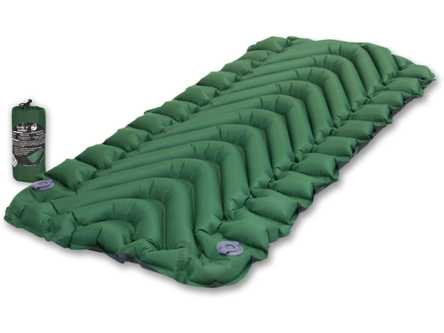 Klymit Static V Junior Sleeping Pad Polyester Green and Black