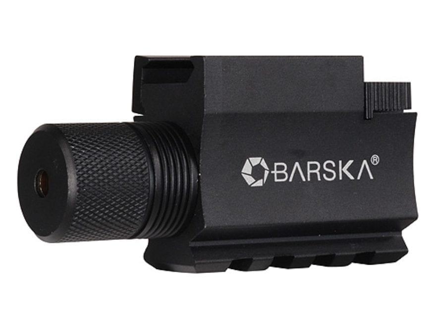 Barska GLX Laser Sight 5mW Laser with Integral Weaver-Style Mount and Momentary Switch ...