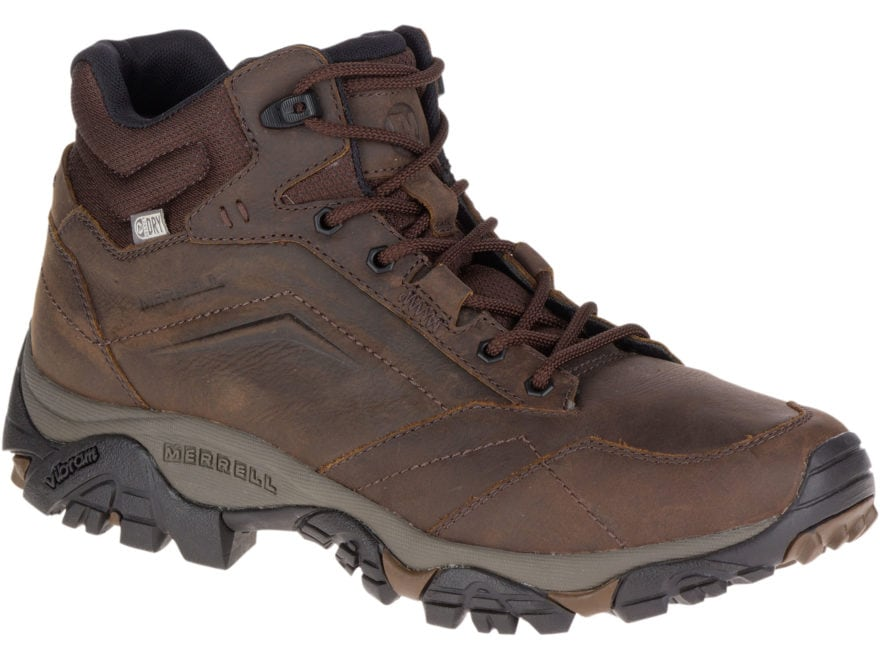 "Merrell Moab Adventure Mid 5"" Waterproof Hiking Boots Leather/Synthetic Men's"