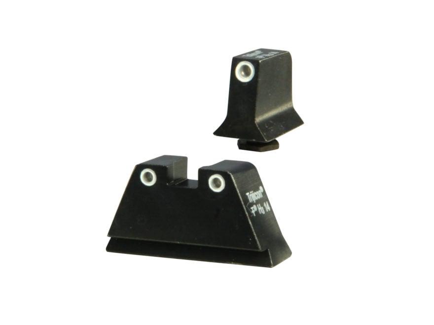 Trijicon Bright & Tough Suppressor Night Sight Set Glock 17, 17L, 19, 22, 23, 24, 25, 2...