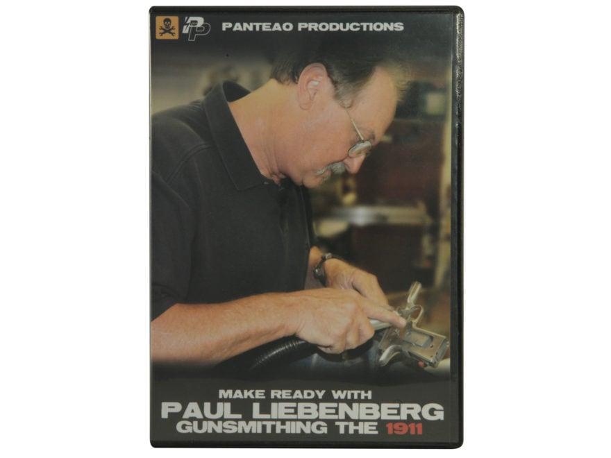 "Panteao ""Make Ready with Paul Liebenberg: Gunsmithing the 1911"" DVD"