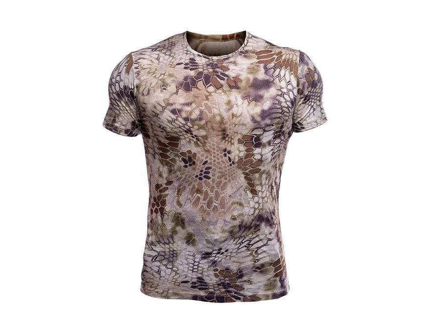 Kryptek Men's Hoplite II Merino Base Layer Short Sleeve Shirt Merino Wool
