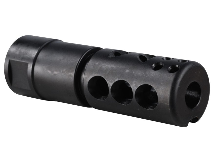 "Smith Enterprise Good Iron Direct Connect Muzzle Brake 5/8""-24 Thread with Jam Nut AR-1..."