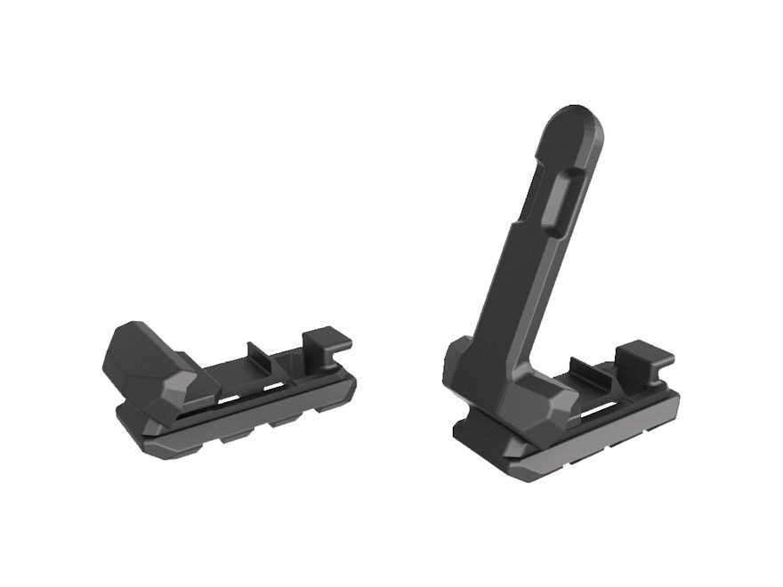 Recover Tactical MCR Picatinny Rail and Picatinny Rail with Clip for MC17, MC21 Base Pa...