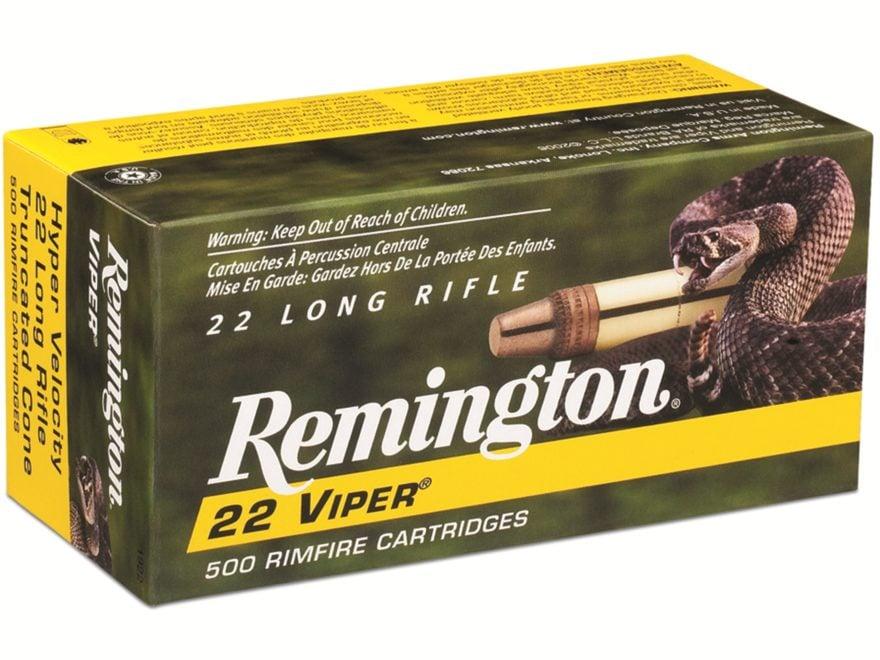 remington viper hyper velocity ammo 22 long rifle 36 mpn 21288