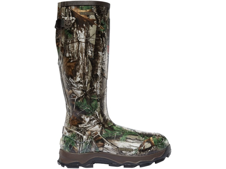 """LaCrosse 4XBurly 18"""" Waterproof 1200 Gram Insulated Hunting Boots Rubber Men's"""