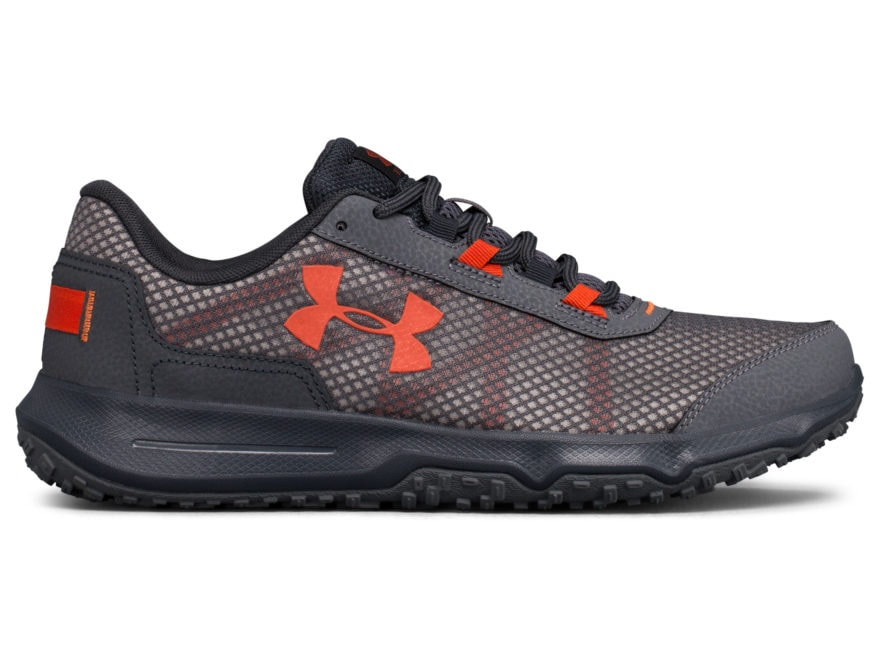 d31b41c82c29 Under Armour UA Toccoa 4 Hiking Shoes Leather Synthetic Rhino Gray