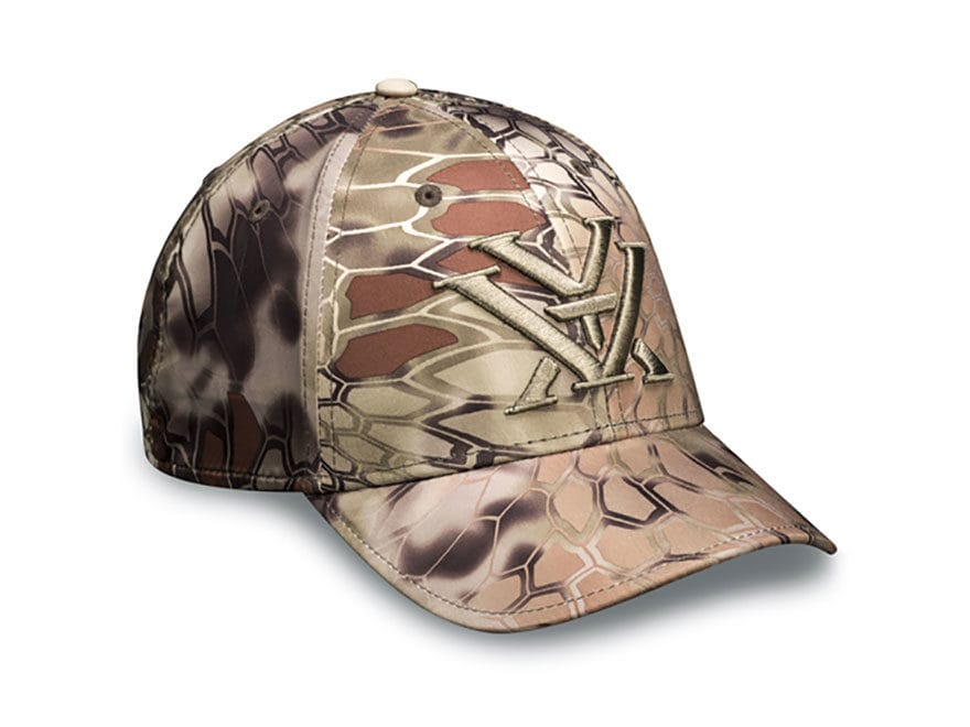 Vortex Optics Logo Cap Cotton/Nylon Kryptek Highlander Camo