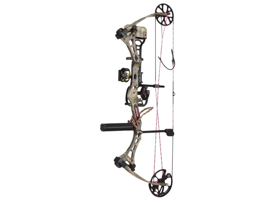"""Bear Archery Finesse Women's Compound Bow Package Right Hand 40-50 lb 23""""-28"""" Draw Leng..."""