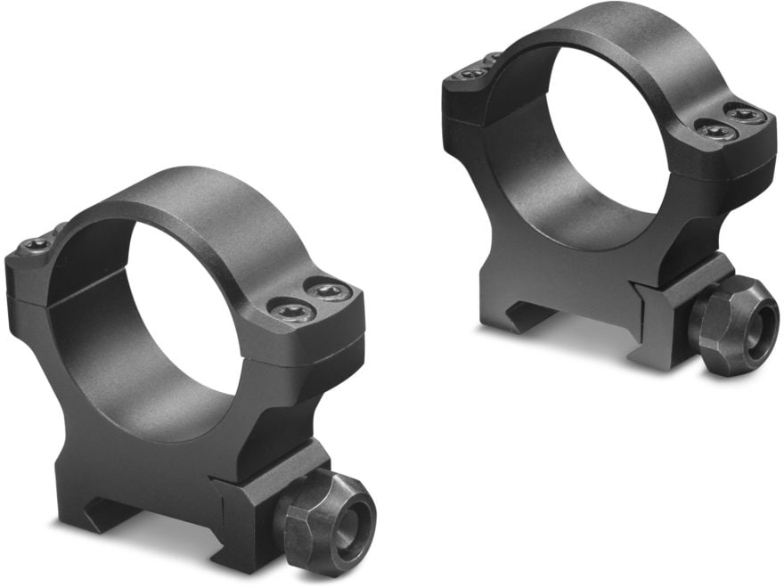 Leupold Backcountry Cross-Slot Weaver-Style Rings Matte