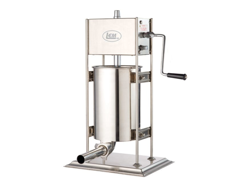 LEM Vertical 25 lb Sausage Stuffer Stainless Steel