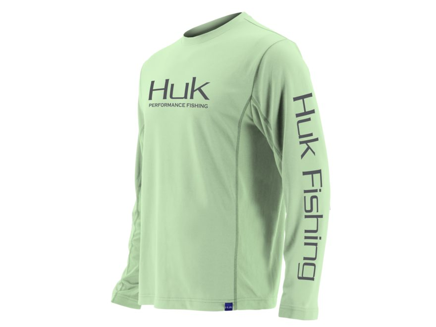Huk Men's Icon X Performance Shirt Long Sleeve Polyester/Spandex